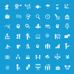 Business icons and human resource icons