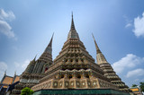 Authentic Thai Architecture in Wat Pho