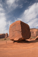 The Cube, Monument Valley Navajo Tribal Park