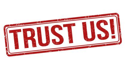 Trust us stamp