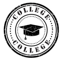 College stamp