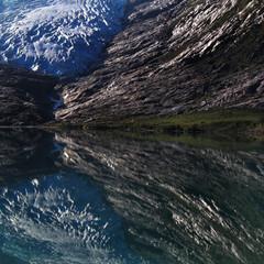 glaciers mirror