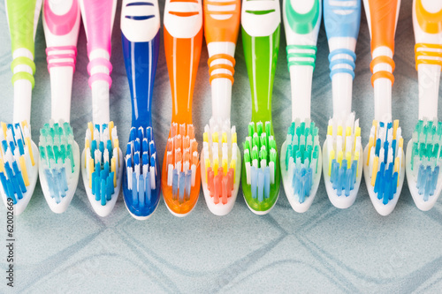 canvas print picture toothbrush