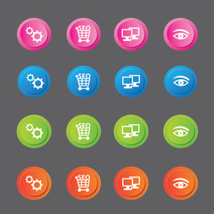 SEO icons,vector