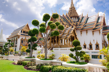 Grand Royal Palace (Phra Borom Maha Ratcha Wang). Thailand