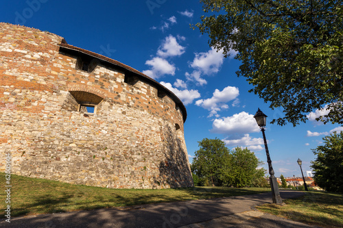 "Medieval bastion ""Rondella"" of Buda Castle in Budapest"
