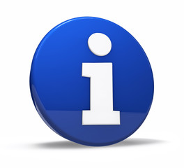 Info Symbol Web Button