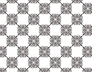 唐草模様のパターン