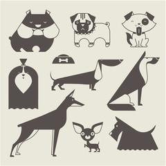 Vector Dog