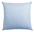 blue pillow isolated with clipping path included