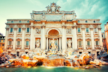Fountain de Trevi, Rome