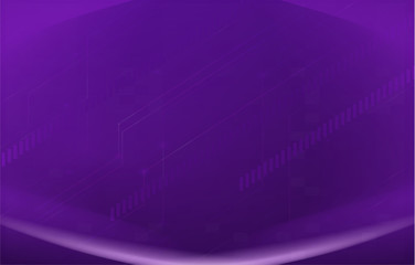 A purple background