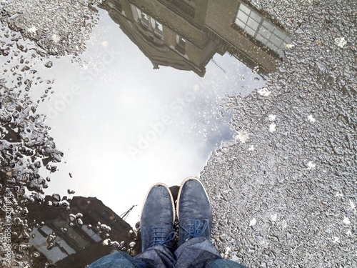 standing st puddle in london
