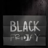 hand drawn design words BLACK FRIDAY as concept