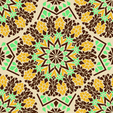 Seamless pattern of Moroccan mosaic