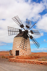 windmill in Fuerteventura