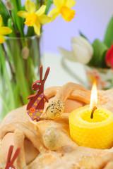 Easter cake closeup