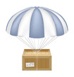 delivery box with umbrella