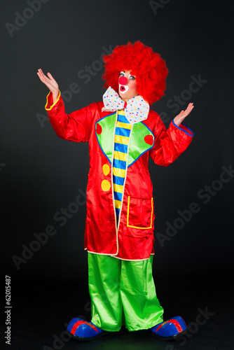 Ratloser Clown