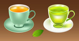 Tea cup vector illustration