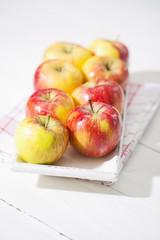 Bio-Äpfel, Topaz, Italien, Studio