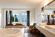 interiors of a modern house