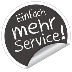 Einfach mehr Service!