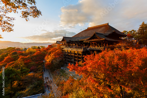 Foto op Plexiglas Japan Kiyomizu-dera temple in Kyoto