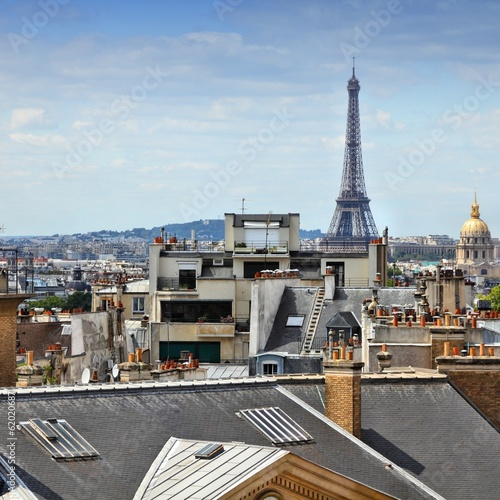 Paris - cityscape with Eiffel Tower