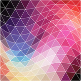 Vector background. Geometric abstract texture. Retro pattern of