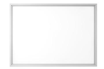 Blank Classroom Whiteboard