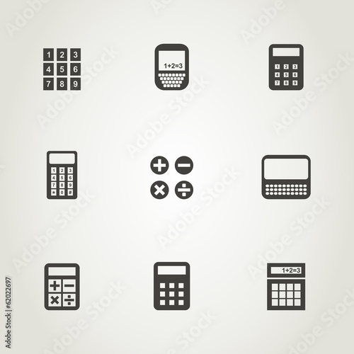 Calculator an icon
