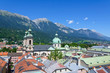 Cityscape of Innsbruck in Austria