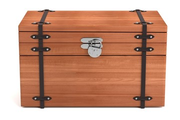 realistic 3d render of chest
