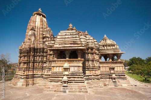 canvas print picture Khajuraho Tempel