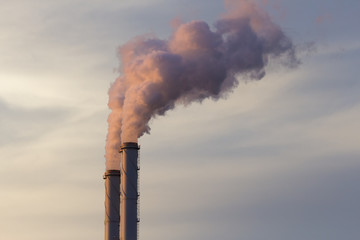 Smoke emission