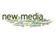New media word cloud