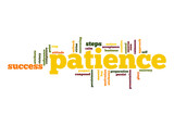 Patience word cloud