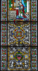 stained-glass window, Riga