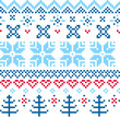 Beautiful seamless Norway pattern
