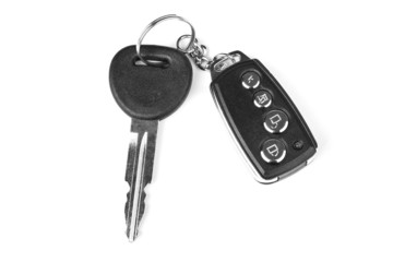 key with car alarm