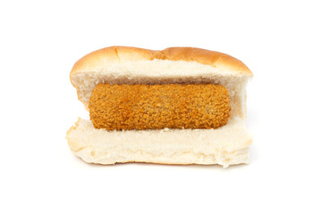 Dutch croquette sandwich
