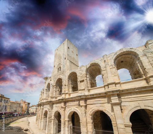 The Roman Arena, Arles, France (A UNESCO World Heritage Site)