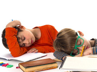 sleeping pupils, boring education
