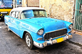 Old cuban car