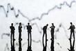 Banker und Aktienkurse