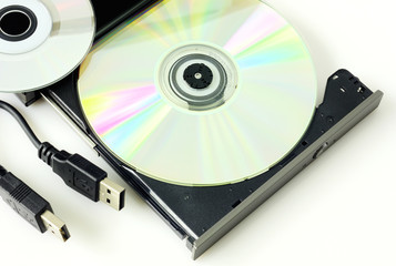 DVD recorder isolated