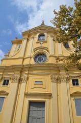 façade d'église, vieux Nice