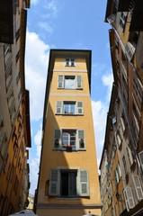 Vieux Nice, immeuble, habitations