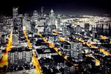Großstadt bei Nacht - Seattle - 62029879